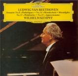 BEETHOVEN - Kempff - Sonate pour piano n°8 op.13 'Pathétique' SHMCD - Import Japon