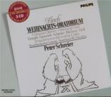BACH - Schreier - Oratorio de Noël(Weihnachts-Oratorium), pour solistes
