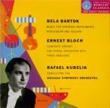 BARTOK - Kubelik - Musique pour cordes, percussions et celesta Sz.106 BB Import Japon