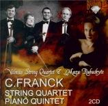 FRANCK - Vilnius String - Quatuor à cordes en ré majeur FWV.9