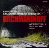 RACHMANINOV - Järvi - Symphonie n°2 en mi mineur op.27