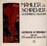 MAHLER - Camerata de Ver - Lieder eines fahrenden Gesellen (Chants d'un
