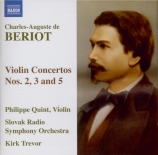 BERIOT - Quint - Concerto pour violon n°2 op.32