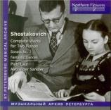 CHOSTAKOVITCH - Laul - Concertino pour 2 pianos op.94