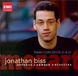 MOZART - Biss - Concerto pour piano et orchestre n°21 en do majeur K.467