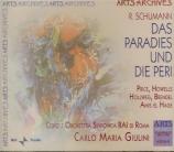 SCHUMANN - Giulini - Das Paradies und die Peri (Moore), oratorio pour so
