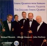 Quatuors à cordes avec soprano