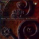 HAENDEL - Borgstede - Suite pour clavier n°1 en la majeur vol.1 n°1 HWV