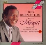 MOZART - Hagen-William - Un bacio di mano, arriette pour basse et orches