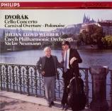 DVORAK - Webber - Concerto pour violoncelle et orchestre en si mineur op