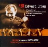 GRIEG - Svetlanov - Peer Gynt : suite n°1 op.46
