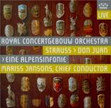 STRAUSS - Jansons - Don Juan, pour grand orchestre op.20