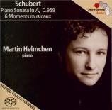SCHUBERT - Helmchen - Sonate pour piano en la majeur D.959