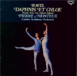 RAVEL - Monteux - Daphnis et Chloé, ballet pour orchestre et chœur mixte Import Japon