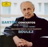 BARTOK - Boulez - Concerto pour deux pianos, percussions et orchestre Sz