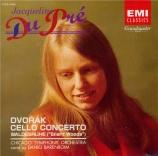 DVORAK - Du Pré - Concerto pour violoncelle et orchestre en si mineur op Import Japon