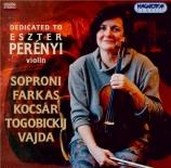 SOPRONI - Perenyi - Sonate pour violon et piano n°1