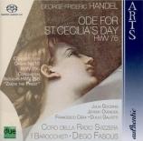 HAENDEL - Fasolis - Ode for St Cecilia's Day HWV76