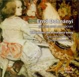 DOHNANYI - Boult - Variations sur une chanson enfantine op.25