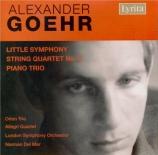 GOEHR - Del Mar - Little symphony op.15