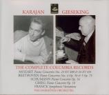 Karajan & Gieseking : The complete Columbia records