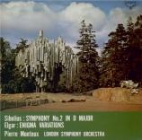 SIBELIUS - Monteux - Symphonie n°2 op.43 (Import Japon) Import Japon