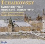 TCHAIKOVSKY - Rozhdestvensky - Symphonie n°4 en fa mineur op.36