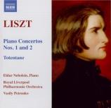 LISZT - Nebolsin - Totentanz, pour piano et orchestre S.126