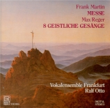 MARTIN - Otto - Messe pour double choeur a cappella