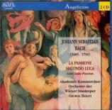 BACH - Barati - Passion selon Saint Luc BWV 246