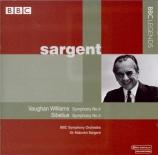VAUGHAN WILLIAMS - Sargent - Symphonie n°4