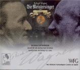 WAGNER - Furtwängler - Die Meistersinger von Nürnberg (Les maîtres chant Import Japon - Wilhelm Fürtwängler Centre of Japan