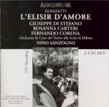 DONIZETTI - Sanzogno - L'elisir d'amore (L'elixir d'amour) Live Recording Edinburgh, August 23 1957