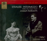 STRAUSS - Keilberth - Intermezzo, opéra op.72 (live Wien 01 - 05 - 1963) live Wien 01 - 05 - 1963