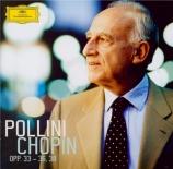 CHOPIN - Pollini - Ballade pour piano n°2 en fa majeur op.38 n°2