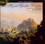MOZART - King's Consort - Sonate d'église n°16, pour orgue et orchestre