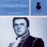 VERDI - Rinaldi - La battaglia di Legnano, opéra en quatre actes Live, RAI Milano 14 - 11 - 1973