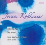 KOKKONEN - Oramo - Symphonie n°1