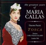 PUCCINI - Cillario - Tosca (live London 1964) live London 1964