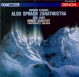 STRAUSS - Blomstedt - Also sprach Zarathustra, poème symphonique pour gr import Japon