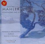 MAHLER - Zinman - Symphonie n°6 'Tragique'