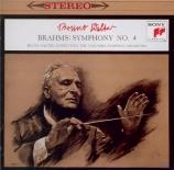 BRAHMS - Walter - Symphonie n°4 pour orchestre en mi mineur op.98 Import Japon