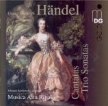 HAENDEL - Musica Alta Rip - Sonate en trio, pour deux violons (ou deux h