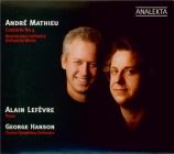 MATHIEU - Hanson - Concerto pour piano n°4
