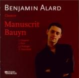 Manuscrit Bauyn