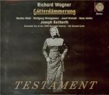 WAGNER - Keilberth - Götterdämmerung (Le crépuscule des dieux) WWV.86d Live Bayreuth 14 - 8 - 1955