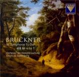 BRUCKNER - Guttenberg - Symphonie n°4 en mi bémol majeur WAB 104