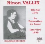 Récital 1951 + interview 1959