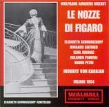 MOZART - Karajan - Le nozze di Figaro (Les noces de Figaro), opéra bouff live Scala 4 - 2 - 1954