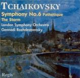 TCHAIKOVSKY - Rozhdestvensky - Symphonie n°6 en si mineur op.74 'Pathéti